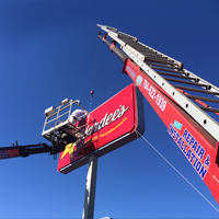 sign erectors charlotte nc