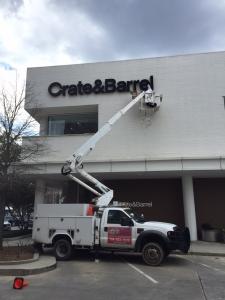 sign hanging installation LED lighing retrofit charlotte nc (2)