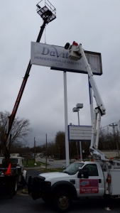 sign hanging installation charlotte nc (3)