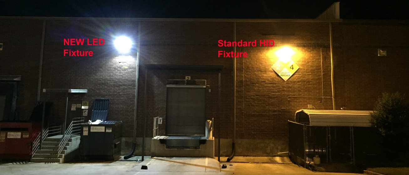 exterior commercial LED lighting charlotte nc