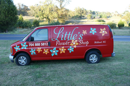 vehicle graphics truck lettering charlotte gastonia nc
